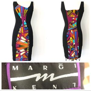 MARGI KENT bodycon Dress